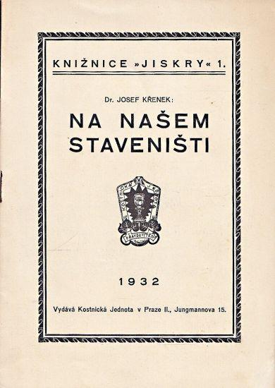 Na nasem stavenisti - Krenek Josef   antikvariat - detail knihy