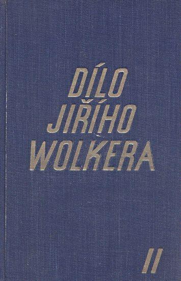 Dilo Jiriho Wolkera II   antikvariat - detail knihy