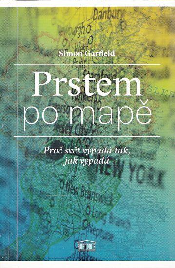 Prstem po mape - Garfield Simon | antikvariat - detail knihy