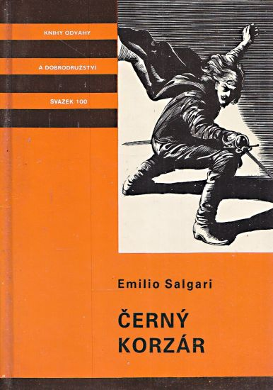 Cerny korzar - Salgari Emilio | antikvariat - detail knihy
