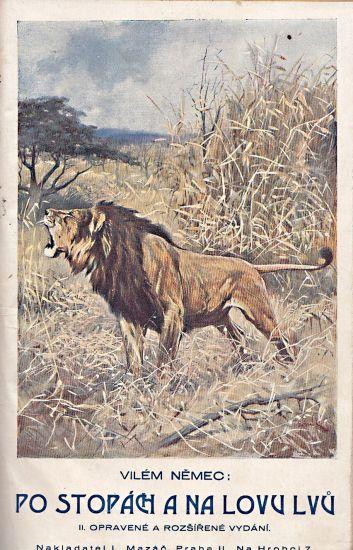 Po stopach a na lovu lvu - Nemec Vilem   antikvariat - detail knihy