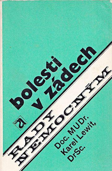Bolesti v zadech - Lewit Karel | antikvariat - detail knihy