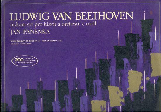 III koncert pro klavir a orchestr c moll - Ludwig van Beethoven   antikvariat - detail knihy