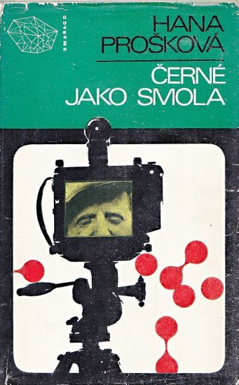Cerne jako smola - Proskova Hana   antikvariat - detail knihy