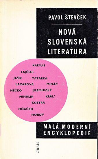 Nova slovenska literatura - Stevcek Pavol | antikvariat - detail knihy