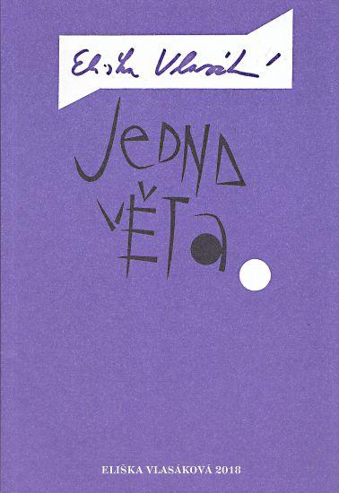 Jedna veta - Vlasakova Eliska | antikvariat - detail knihy