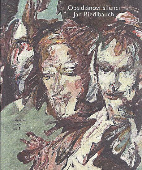 Obsidianovi silenci - Riedlbauch Jan   antikvariat - detail knihy