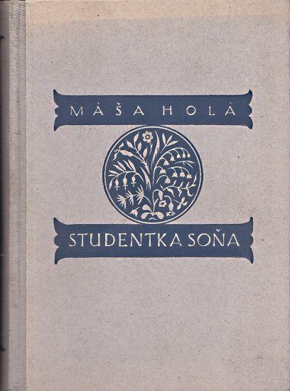 Studentka Sona - Hola Masa   antikvariat - detail knihy