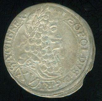 Uhry Leopold I 1657  1705 XV Krejcar 1696 - C228 | antikvariat - detail numismatiky