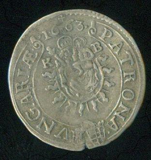 Uhry Leopold I 1657  1705 3 Krejcar 1663 - C986 | antikvariat - detail numismatiky