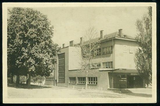 Lysa nad Labem  narodni skola | antikvariat - detail pohlednice