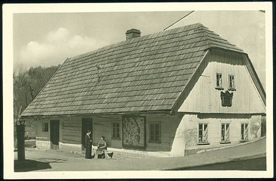 Hronov  Rodny domek A  Jiraska | antikvariat - detail pohlednice