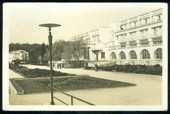 Lazne Velichovky  Masarykuv lazensky palac | antikvariat - detail pohlednice