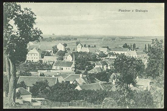 Pozdrav z Biskupic | antikvariat - detail pohlednice