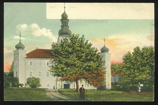 Trest  Zamek | antikvariat - detail pohlednice