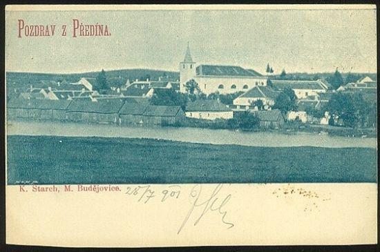 Pozdrav z Predina | antikvariat - detail pohlednice