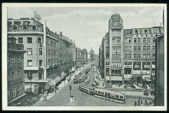 Prag Graben  Praha Prikopy | antikvariat - detail pohlednice