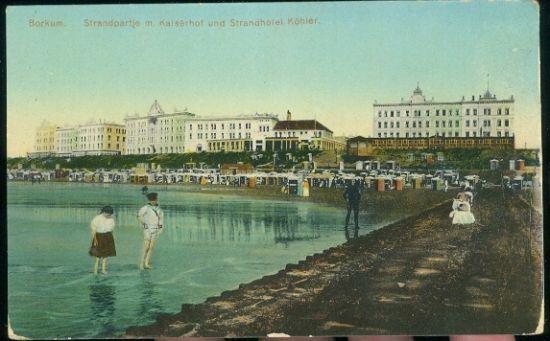Borkum | antikvariat - detail pohlednice
