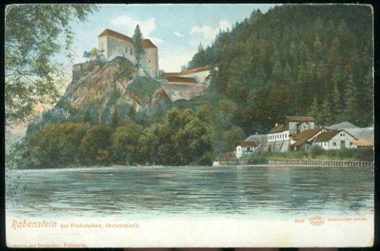 Rabenstein bei Frohnteiten | antikvariat - detail pohlednice