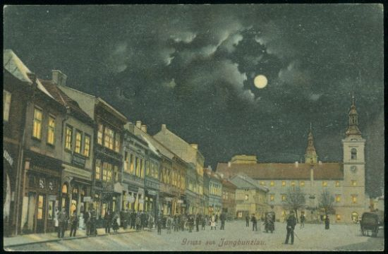 Mlada Boleslav  Gruss aus Jungbunzlau | antikvariat - detail pohlednice