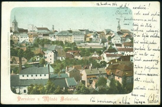 Pozdrav z Mlade Boleslavi | antikvariat - detail pohlednice