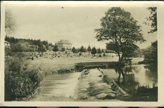 Horni Bradlo  hotel Vrsov | antikvariat - detail pohlednice