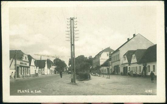 Plana nad Luznici | antikvariat - detail pohlednice