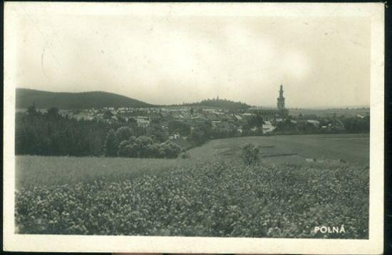Polna  Celkovy pohled | antikvariat - detail pohlednice