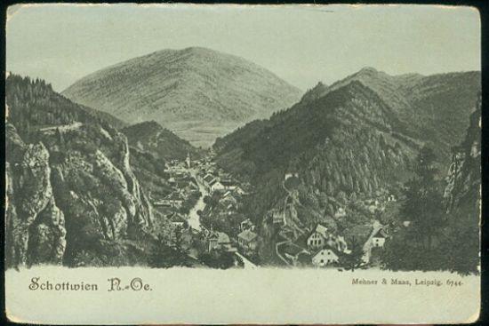 Schottwien | antikvariat - detail pohlednice