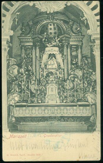Mariazell | antikvariat - detail pohlednice