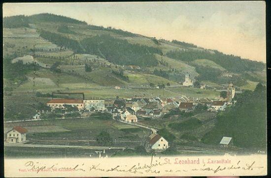 St Leonhard i Lavanttale | antikvariat - detail pohlednice