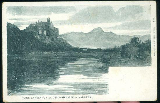 Ruine Landskron am Ossiacher | antikvariat - detail pohlednice