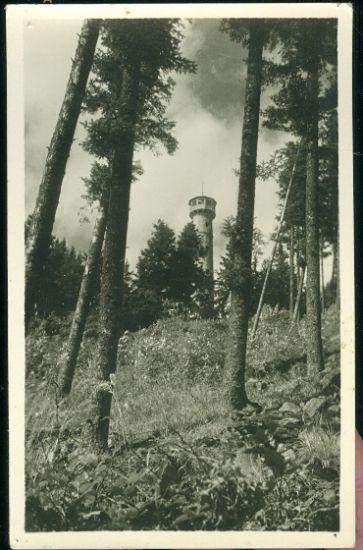 Susice na Sumave   antikvariat - detail pohlednice