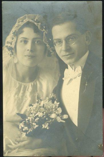 Svatebni fotografie | antikvariat - detail pohlednice