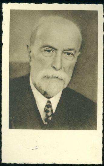 T G Masaryk | antikvariat - detail pohlednice