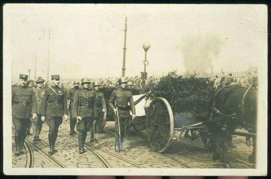 pohreb TGM | antikvariat - detail pohlednice