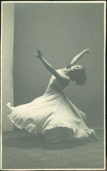 Baletka | antikvariat - detail pohlednice