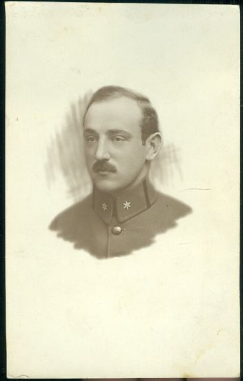 Vojak Majdan 1916  1917   antikvariat - detail pohlednice