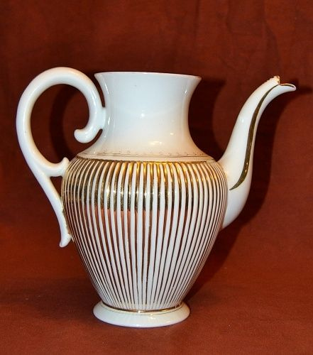 Porcelanova konvice bez vika   antikvariat - detail starozitnosti